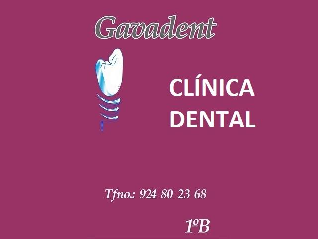 CLÍNICA DENTAL GAVADENT, CLÍNICA DENTAL EN DON BENITO, IMPLANTES EN DON BENITO, BRACKETS EN DON BENITO,