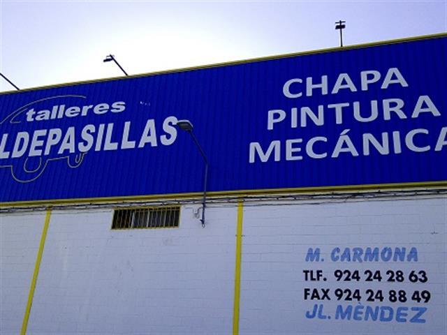 TALLERES VALDEPASILLAS, CHAPA Y PINTURA EN BADAJOZ,