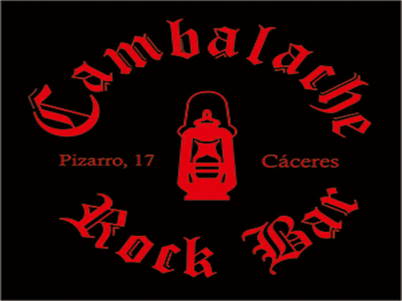 CAMBALACHE ROCK BAR