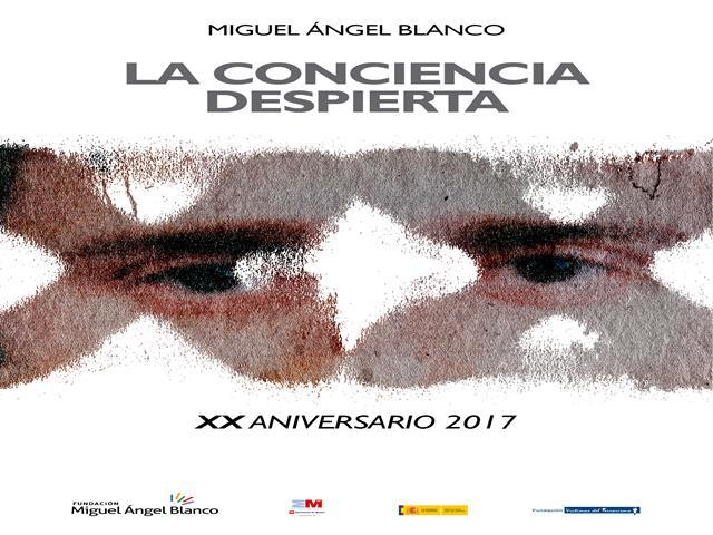 Homenaje al XX aniversario del asesinato de Miguel Ángel Blanco.