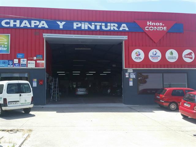 TALLER DE CHAPA Y PINTURA HERMANOS CONDE, TALLER DE CHAPA Y PINTURA ECONÓMICO EN CÀCERES, MECANICA RAPIDA EN CACERES