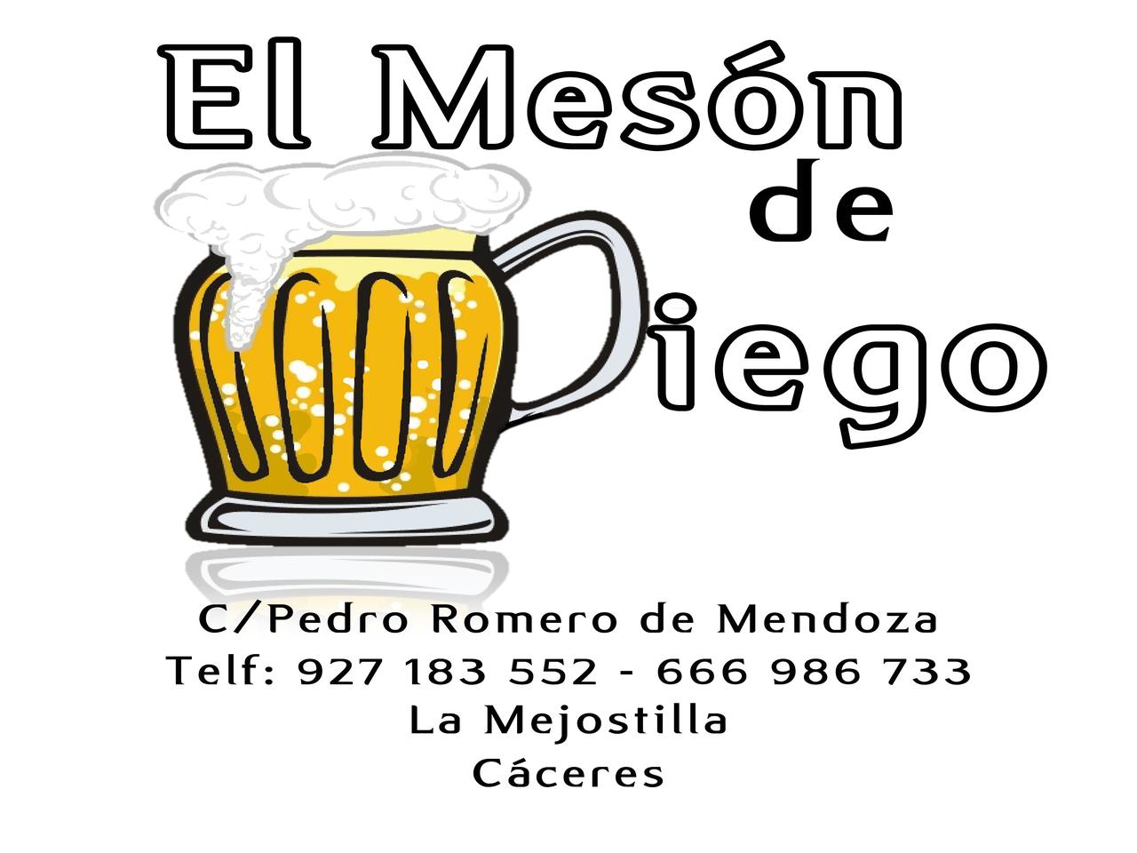 MESÓN DE DIEGO, Mesón en Cáceres, ¿Dónde Tapear en Cáceres?, ¿Dónde comer en Cáceres?