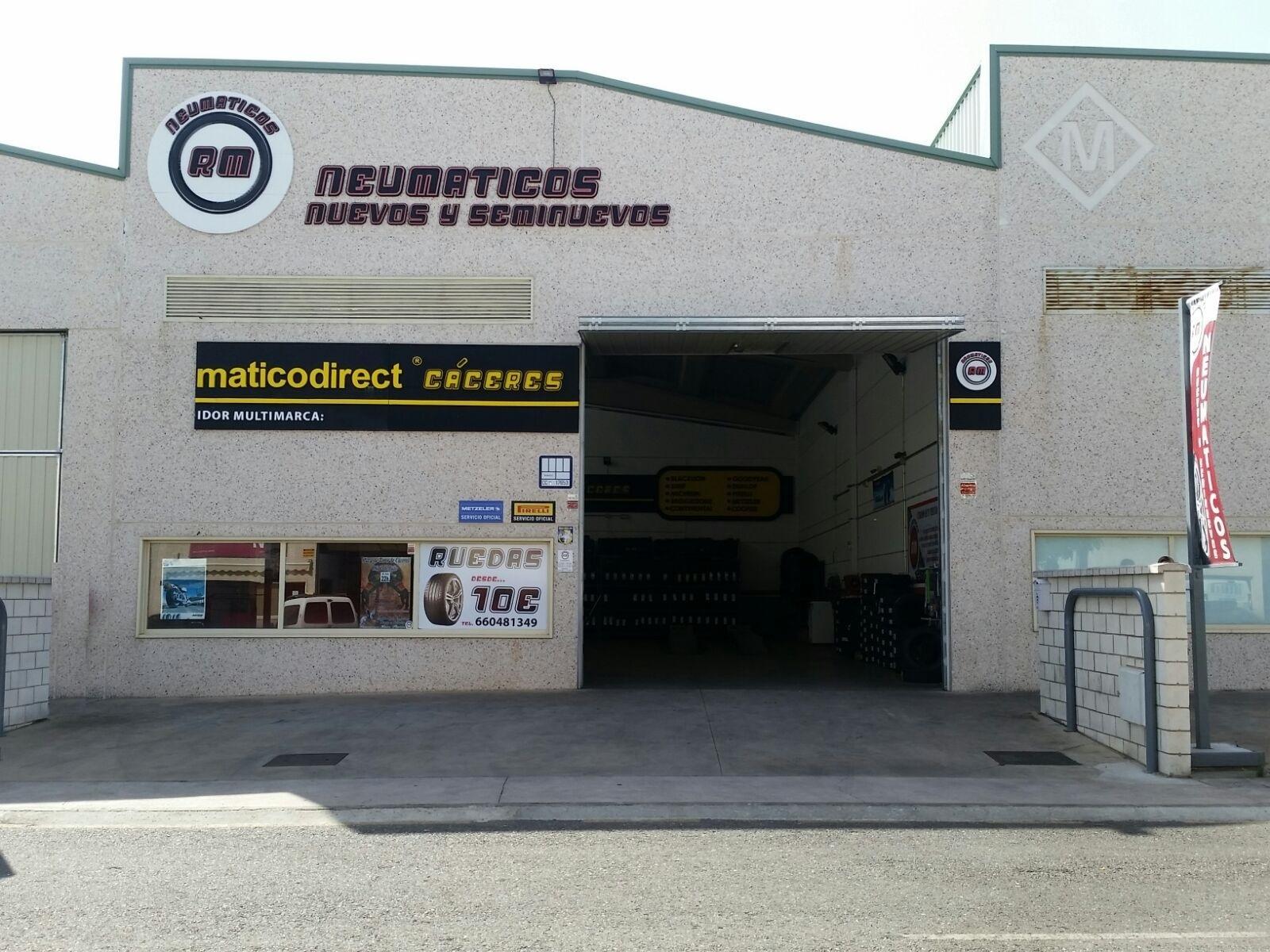 NEUMATICOS RM, Neumáticos baratos en Cáceres