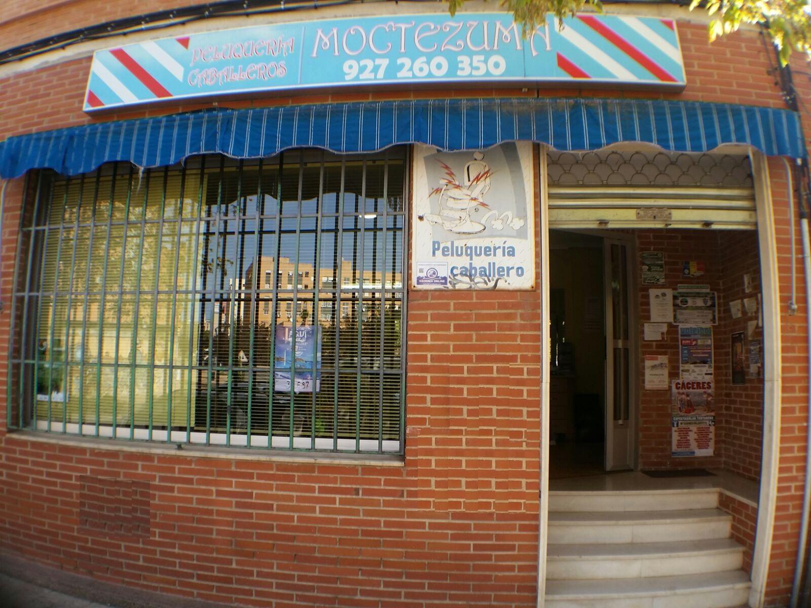 PELUQUERIA DE CABALLEROS MOCTEZUMA, Peluquería económica en Cáceres, Peluquería de caballeros económica en Cáceres