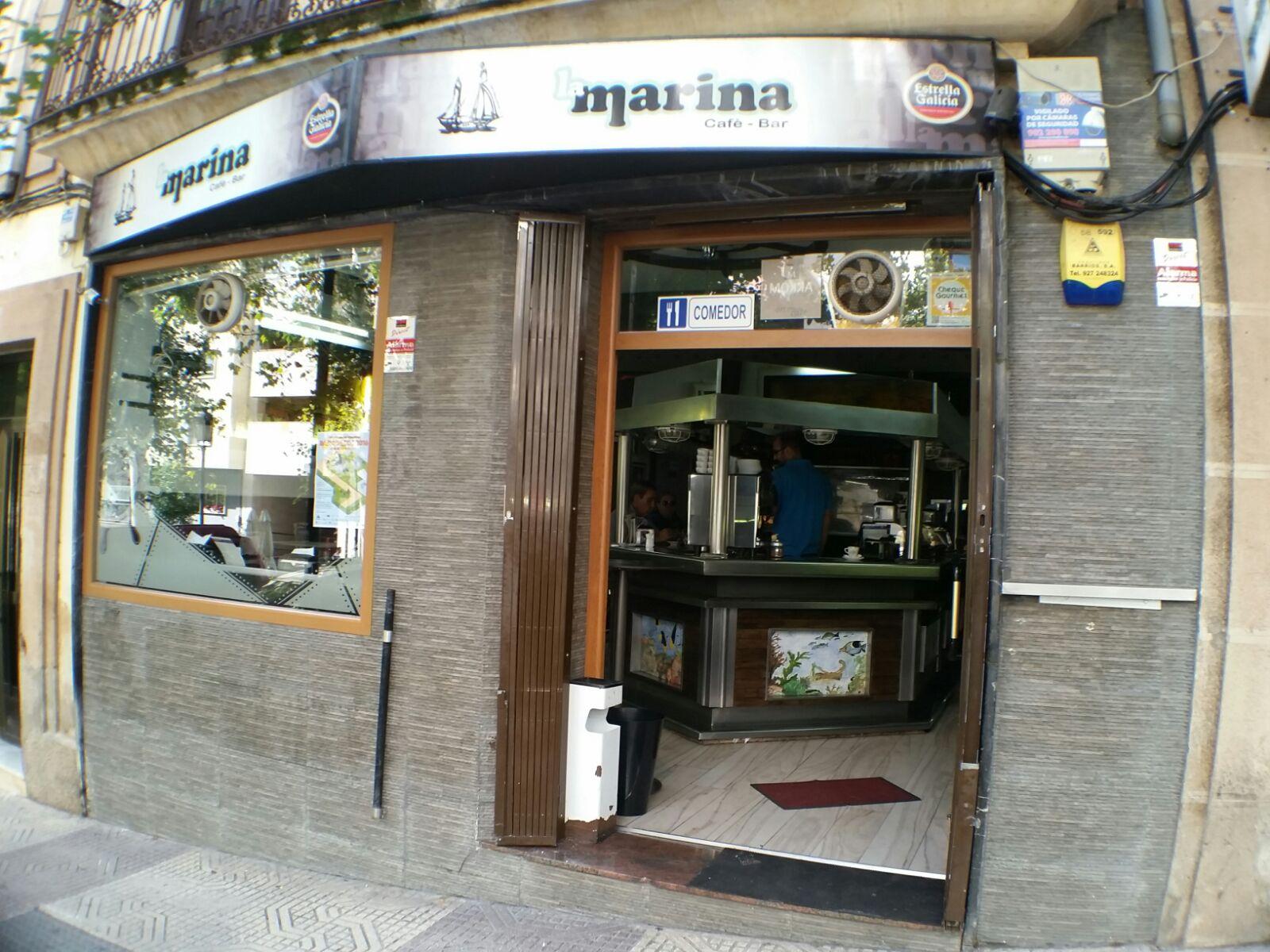 RESTAURANTE BAR LA MARINA, donde comer en Caceres, comer bien en Caceres, mejores restaurantes en Caceres, Restaurante en Caceres,