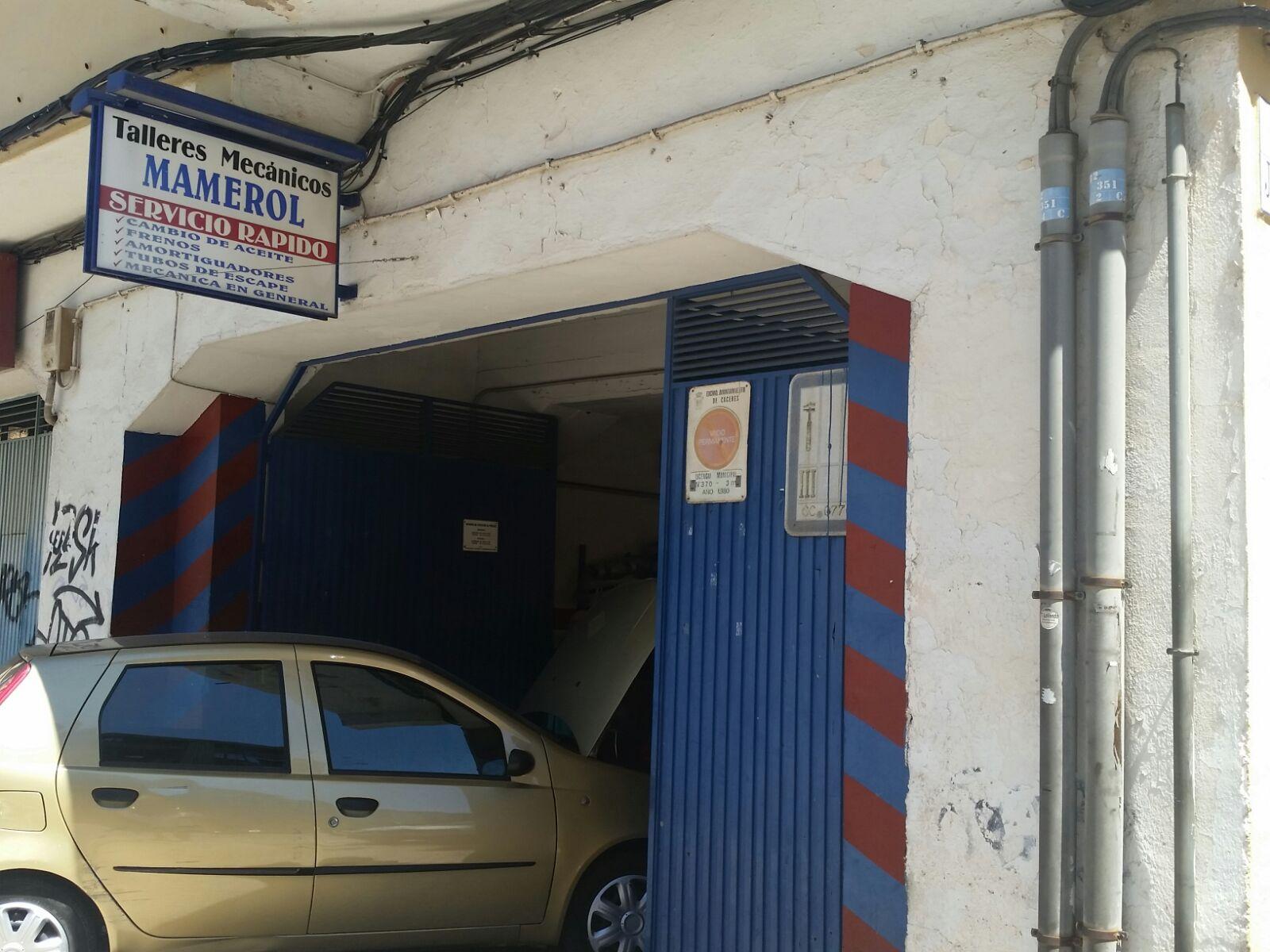 TALLERES MAMEROL, Taller ecómico en Cáceres