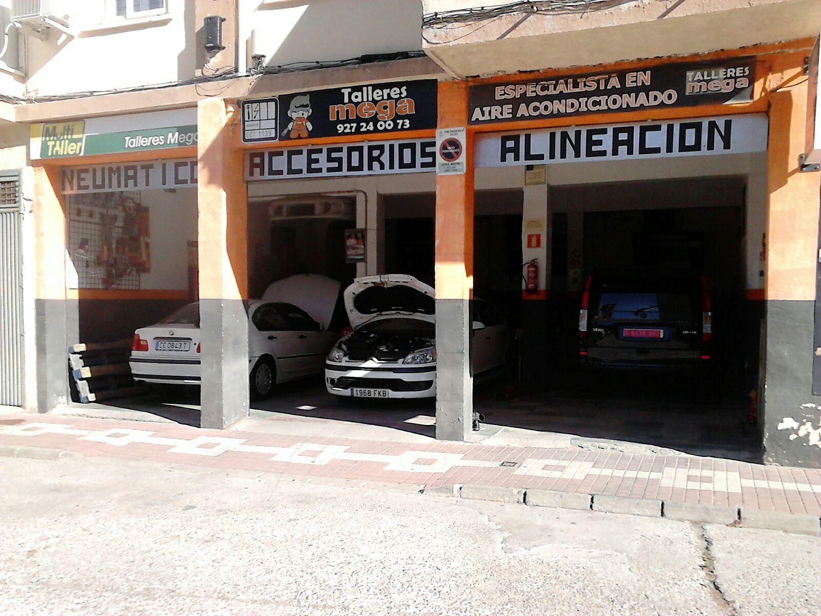 Talleres MEGA, Talleres mecanica barata en Cáceres