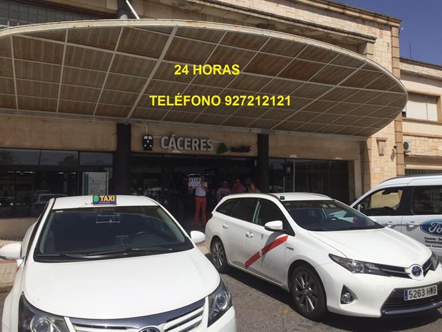 TAXI EN CÁCERES, PARADA ESTACIÓN DE TREN (RENFE),