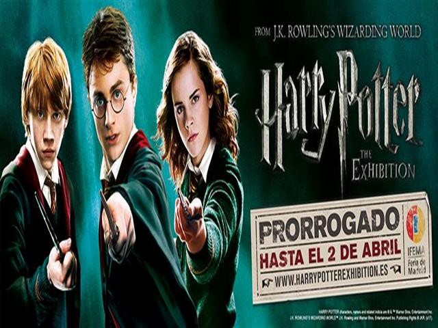 Harry Potter™: The Exhibition, continúa en Madrid hasta el 2 de abril. ¡No te lo puedes perder!