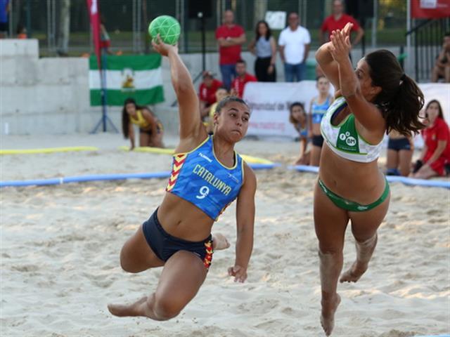 Getafe ha acogido el II Campeonato de España de Selecciones Autonómicas de Balonmano Playa