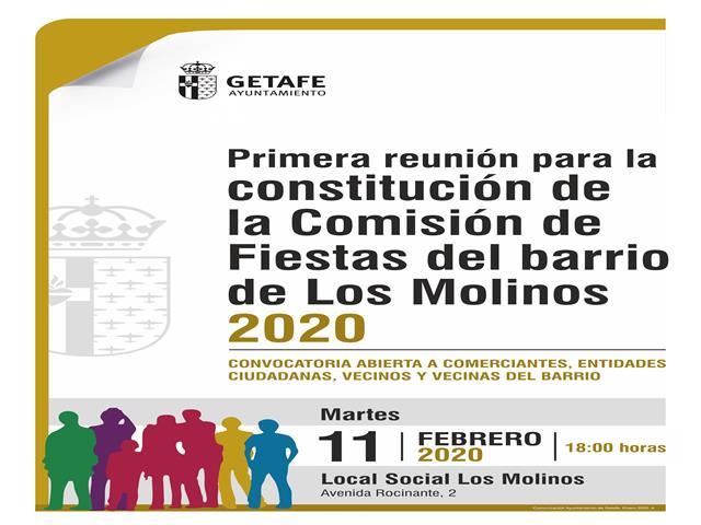 El Ayuntamiento de Getafe impulsará que los vecinos organicen las fiestas del barrio de Los Molinos