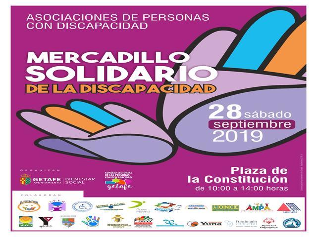 Getafe celebra este sábado el Mercadillo Solidario por la Discapacidad