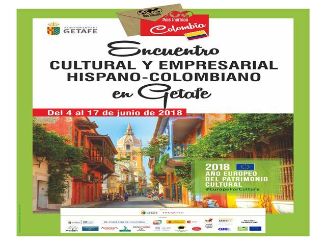 La visita de Colombia a Getafe como país invitado, brinda una oportunidad para disfrutar de su diversidad cultural y empresarial