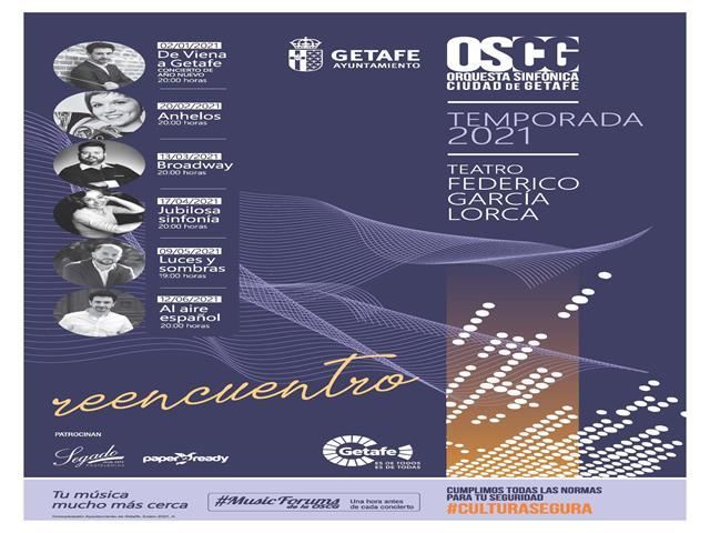 La Orquesta Sinfónica Ciudad de Getafe presenta su abono de temporada