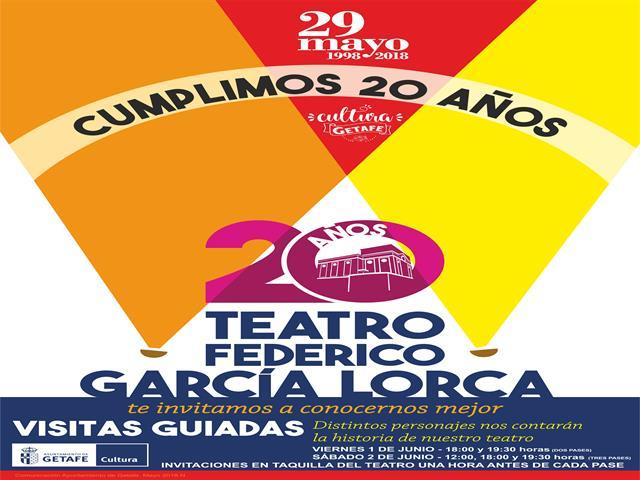 El teatro Federico García Lorca cumple 20 años