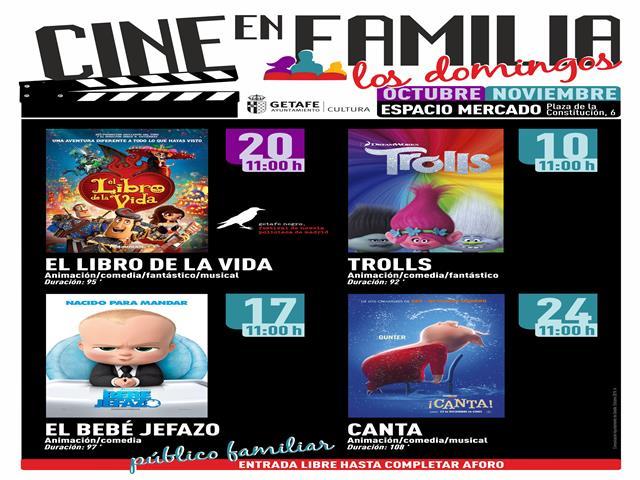 Vuelve el 'Cine en familia' los domingos