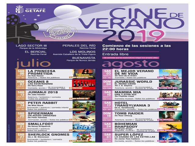 El ciclo Cine de Verano ofrece este fin de semana las películas 'Jumanji 2018' y 'Peter Rabbit'