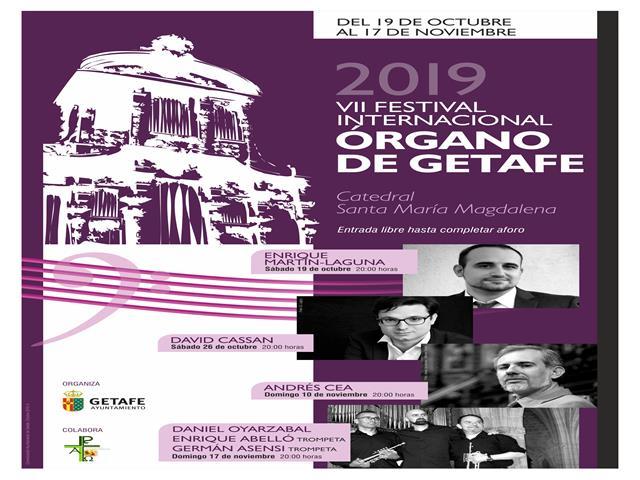 Getafe celebra la VII edición del Festival Internacional de Órgano