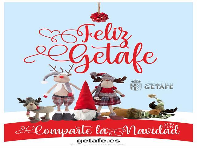 Getafe vivirá una Navidad cargada de fiestas para todas las edades, música, cuentos y actividades en los barrios