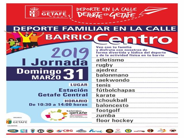 El próximo domingo da comienzo la tercera temporada del programa 'Deporte Familiar en la Calle'