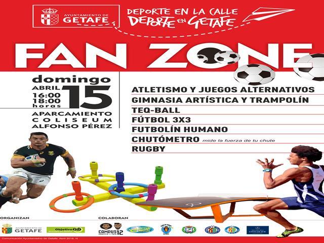 El próximo domingo se celebrará el Día de las Peñas en Getafe con una Fan Zone