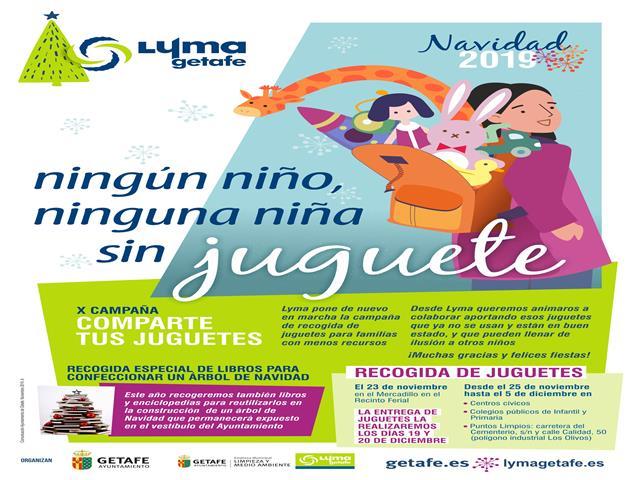 El Ayuntamiento de Getafe comienza la campaña 'Ningún niño, ninguna niña sin juguete'