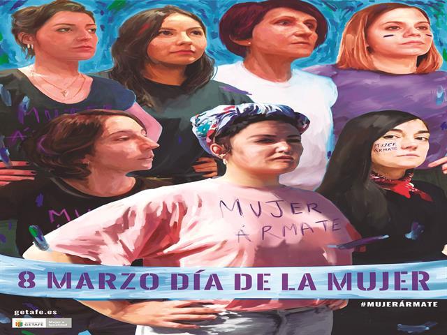 Getafe presenta su campaña 'Ármate Mujer' para celebrar el 8 de marzo