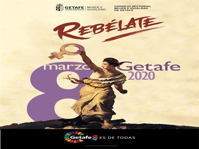 Getafe lanza la campaña '¡Rebélate!' por el 8 de marzo