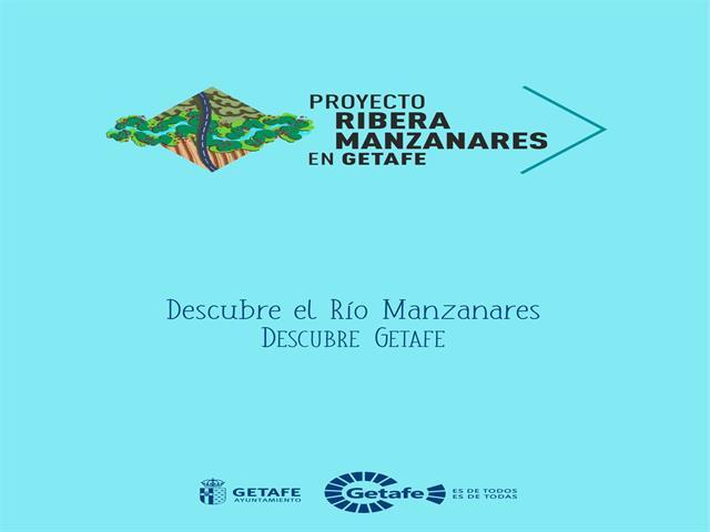 Getafe edita una nueva guía para conocer el entorno del río Manzanares a su paso por la ciudad