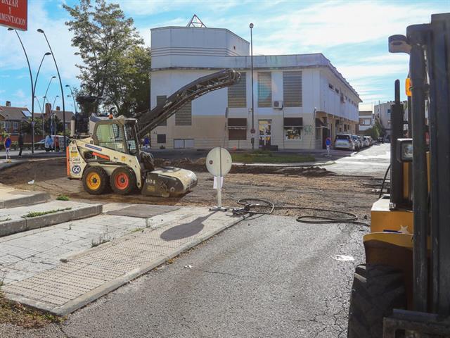 Comienza la renovación de una docena de calles en Getafe con el Plan Asfalto