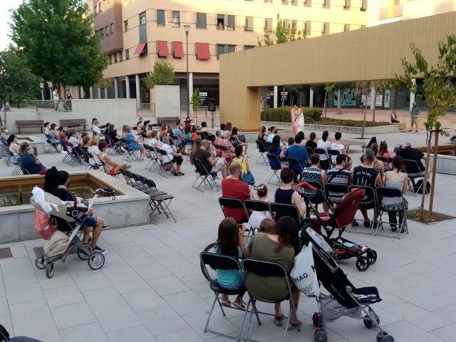 Más de 10.000 personas disfrutaron del programa cultural 'Verano en la calle'