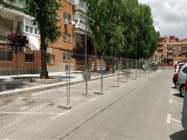 Comienzan las obras para mejorar la accesibilidad de la calle Valdemorillo