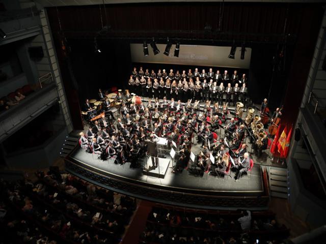 El concierto del Día de la Constitución de la Banda de Música de Getafe tendrá dos pases