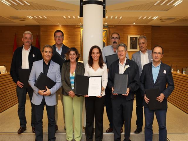 Firmados los convenios del fondo de industria que este año ha aumentado hasta los 220.000 euros