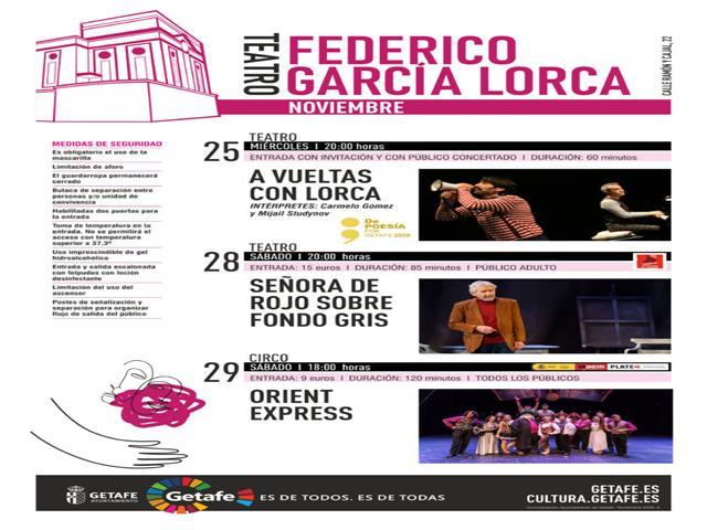 Música, poesía y teatro prometen llenar los diferentes espacios culturales de la ciudad