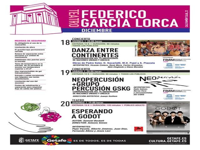 Llega al Teatro Federico García Lorca 'Esperando a Godot' con Pepe Viyuela