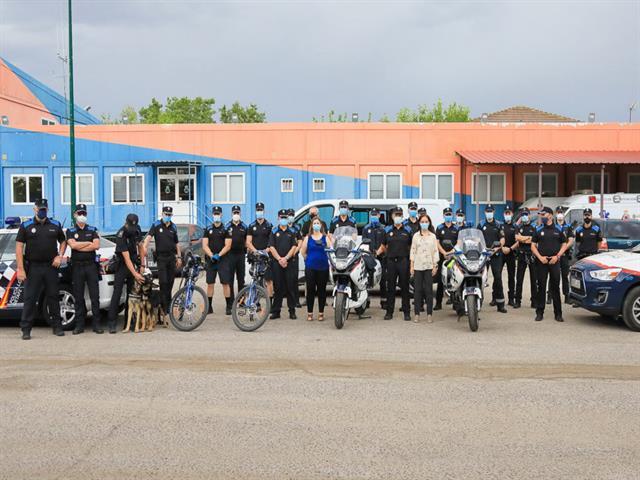 La Policía Local de Getafe celebra hoy el Día de su patrón