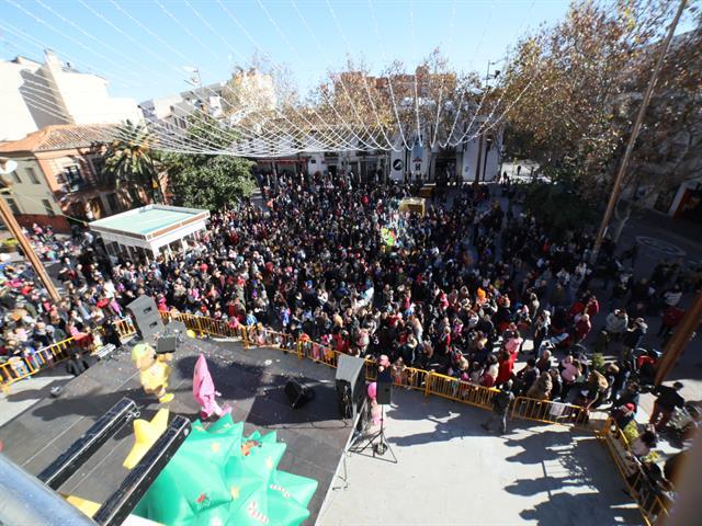 Los peques de la casa serán los protagonistas de la Fiesta Fin de Año Infantil el próximo domingo