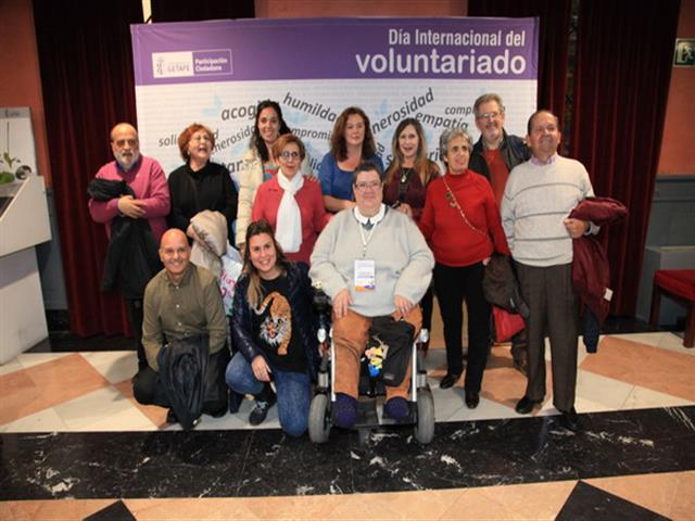 """Homenaje del Ayuntamiento a los voluntarios y voluntarias """"Vitales en la transformación de Getafe en una gran ciudad"""""""