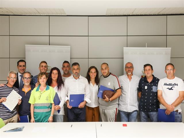10 Trabajadores de LYMA han firmado sus contratos indefinidos