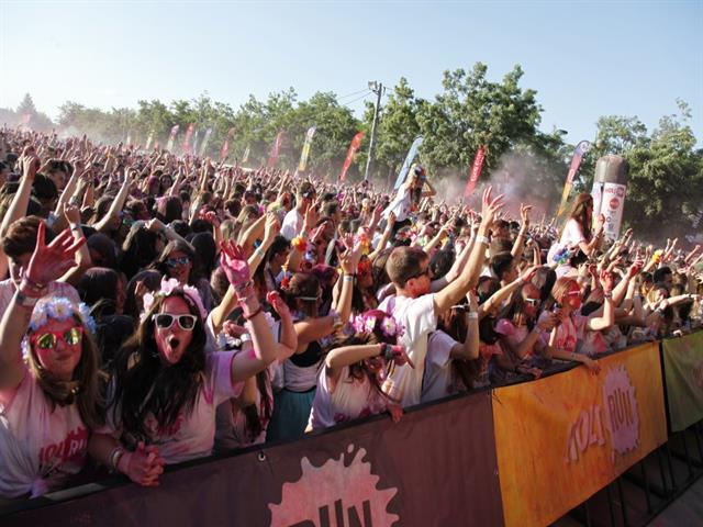 Getafe celebrará el próximo sábado la Carrera Holi de Colores por la Igualdad