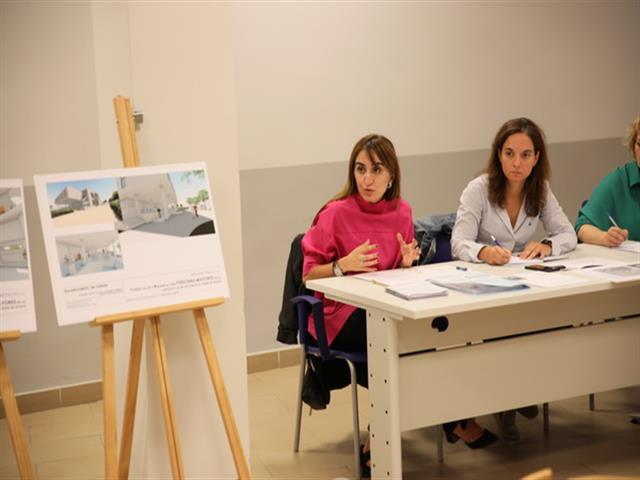 Presentado el anteproyecto para crear una residencia de mayores y centro de día públicos en el antiguo edificio de la Casa de Murcia