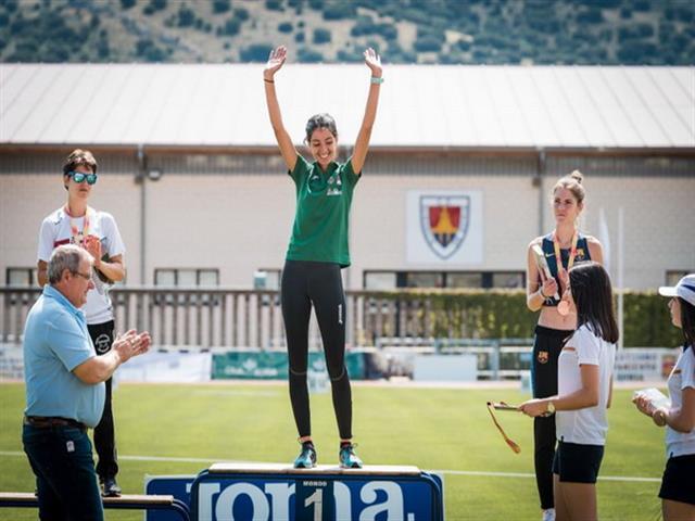 La getafense Lidia Sánchez-Puebla se proclama campeona de España Sub-23 de los 10 kilómetros marcha