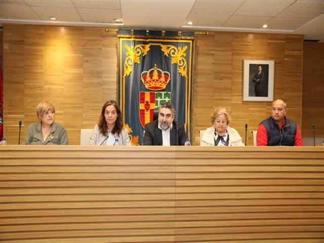 El delegado del Gobierno copreside con la alcaldesa de Getafe la junta local de seguridad