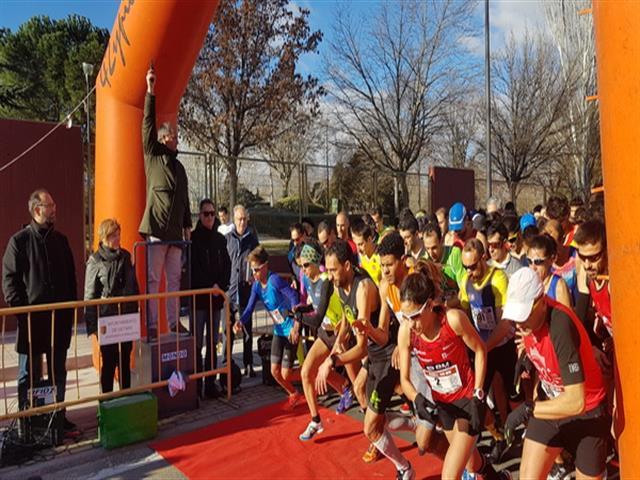 Lucía Morales y Hicham Oualla se proclaman vencedores de la media maratón 'Ciudad de Getafe'