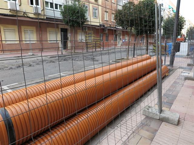 El Ayuntamiento de Getafe mejora la movilidad de la calle Albacete
