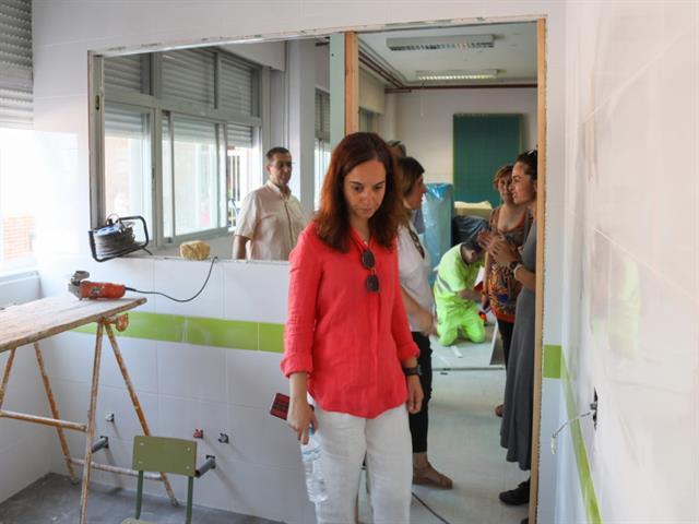 Getafe mejorará en verano 20 colegios, 3 escuelas infantiles y 3 casitas de niños