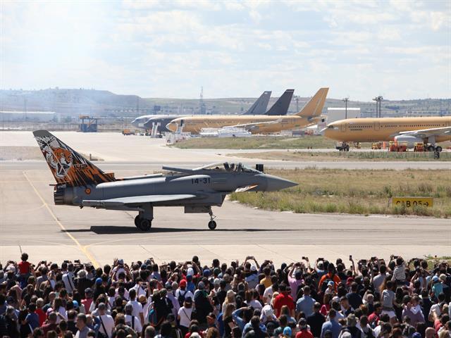 Getafe concederá la Medalla de Oro de la ciudad a la Base Aérea en su 100 anivesario