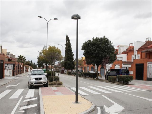 El Ayuntamiento de Getafe mejora del alumbrado público en una de las urbanizaciones del Sector III