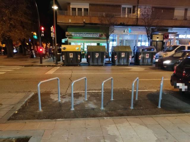 Getafe instala 300 nuevos aparcamientos para vehículos de dos ruedas